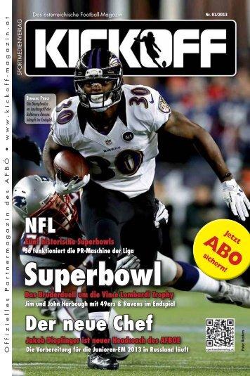 Kick Off Magazin 2013-01