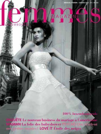 Femmes Magazine janvier