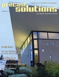 Precast Solutions National Precast Concrete Association Winter 2012