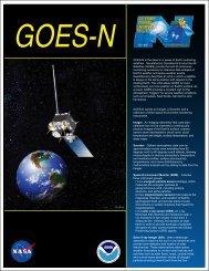 GOES-N Fact Sheet 2006 - NOAA