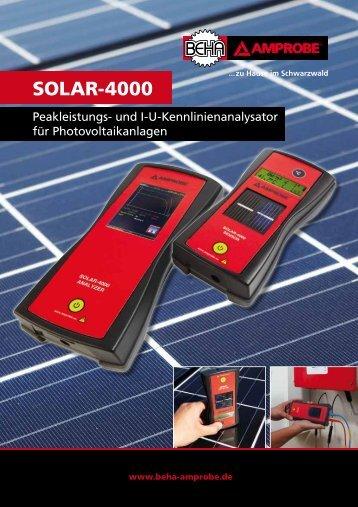 SOLAR-4000 - PB Messtechnik