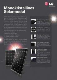 LG-M1C Mono (PDF 0,97 MB) - Soley Solar GmbH