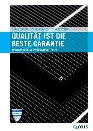 Der Q.CELLS Produktkatalog PDF-Download