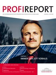 profireport ausgabe 02 - Saint-Gobain Building Distribution ...