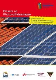 Einsatz an Photovoltaikanlagen - Deutscher Feuerwehrverband