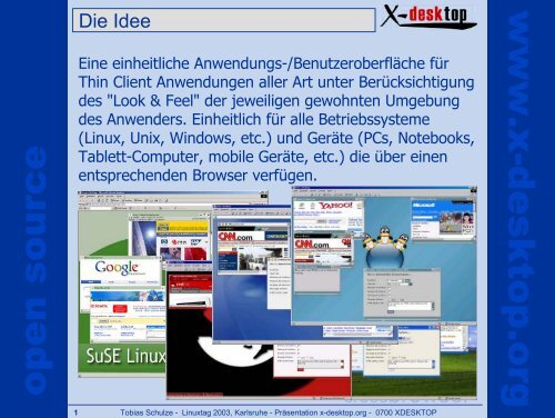 open source www x-desktop org