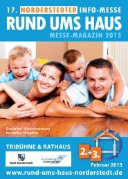 Messemagazin Download - Norderstedter Rund ums Haus 2013