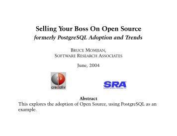 PostgreSQL Adoption and Trends