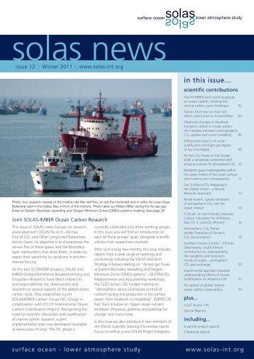 SOLAS News 2010