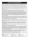 Installation & Operation Manual - Hearth Innovations - Page 7