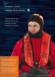 Challenger SOLAS Lifejackets - International Safety Products