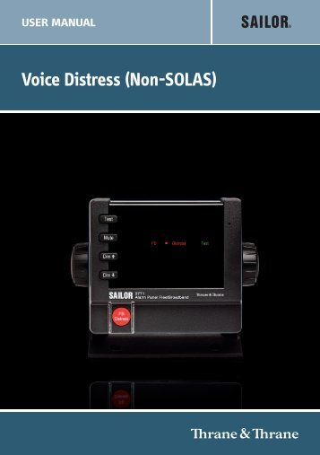 Voice Distress (Non-SOLAS) - Polaris-as.dk
