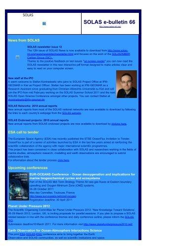 e-bulletin 66 pdf - solas