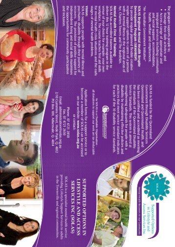 SOLAS Brochure (Italian)