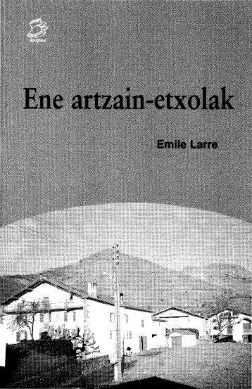 Ene artzain-etxolak - Euskaltzaindia