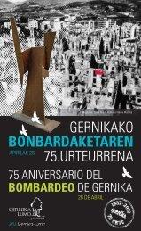 gernikako bonbardaketaren 75.urteurrena - Gernika-Lumoko Udala