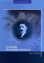 Etxepare, Aldudeko medikua (PDF, 14,8 MB) - Euskaltzaindia