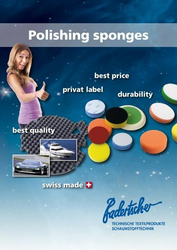 Polishing sponges