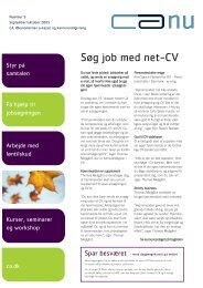 Søg job med net-CV - CA a-kasse