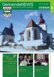 Weihnachtspost - Steirische Volkspartei