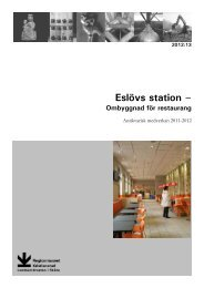 Eslövs station - Regionmuseet Kristianstad