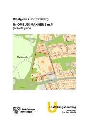 Detaljplan - Linköpings kommun