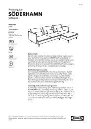 SÖDERHAMN serien - Ikea