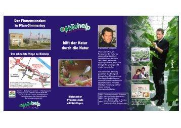 hilft der Natur durch die Natur - Werbeagentur Dr. Kovarik