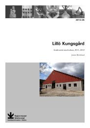 Lillö Kungsgård - Regionmuseet Kristianstad