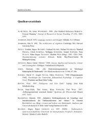 Quellenverzeichnis - bei DuEPublico
