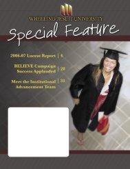 Special Feature - Wheeling Jesuit University