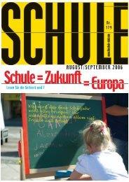 Schule = Zukunft = Europa - Landesschulrat Steiermark
