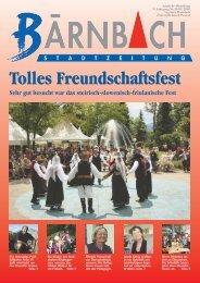 Sehr gut besucht war das steirisch-slowenisch-friulanische - Bärnbach