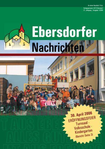 Nachrichten - Gemeinde Ebersdorf