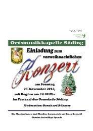 Folge 25,11/2012 - Gemeinde Söding