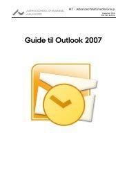 Guide til Outlook 2007