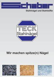 Stahlnägel - Fritz Schaber GmbH