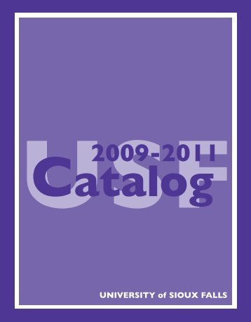 Catalog 2003-05 - University of Sioux Falls