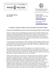 ************************** For Immediate Release Media Contact: May ...