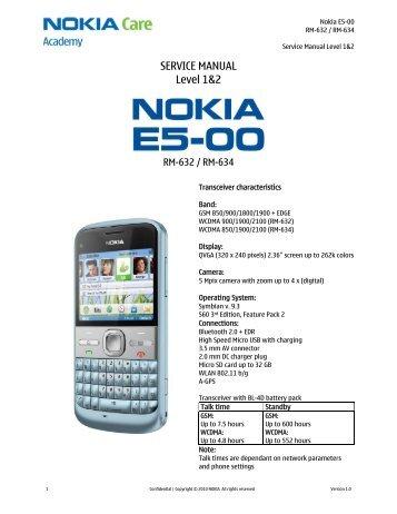 nokia n8 00 rm 596 service manual level 1 2 pdadb rh yumpu com Nokia E71 Nokia E63