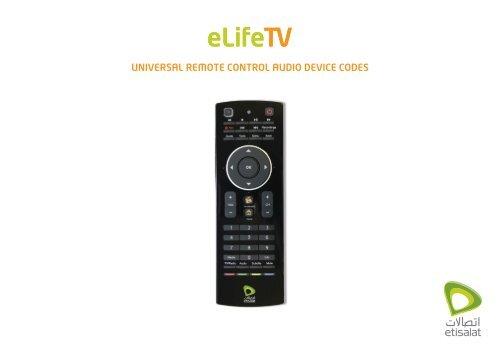 Fernbedienung elta 2307 für Audio System