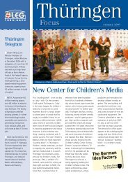 New Center for Children's Media - Landesentwicklungsgesellschaft ...
