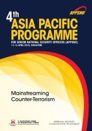 APPSNO 2010 Report - S. Rajaratnam School of International Studies