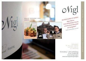 RZ Nigl Gansl (21.10) - Weingut Nigl