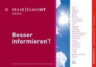 Technischen Daten - MairDumont Media
