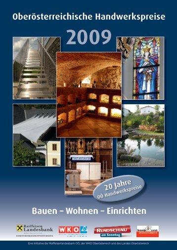 Oberösterreichische Handwerkspreise Bauen – Wohnen ... - freiraum