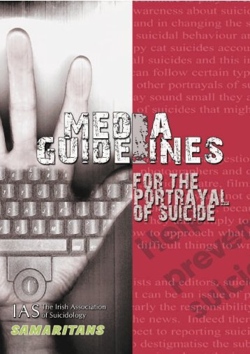 Ireland Media Guidelines for the Portrayal of Suicide - International ...