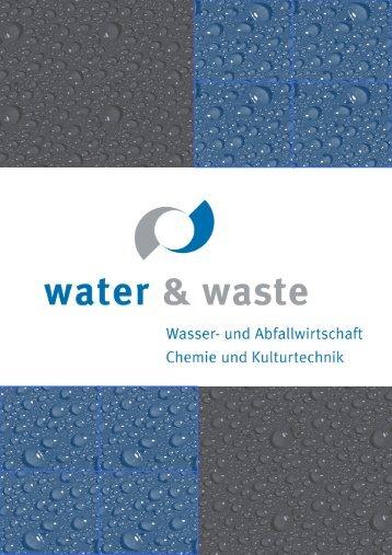 Download Firmenprofil - WATER & WASTE