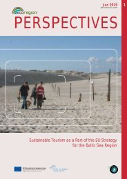 Sustainable Tourism as a Part of the EU Strategy for ... - EcoRegion
