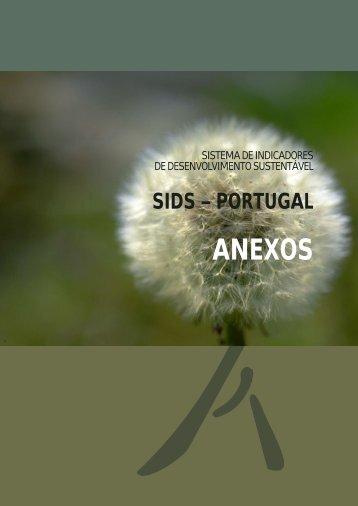 SIDS 2007 (anexos) - Agência Portuguesa do Ambiente